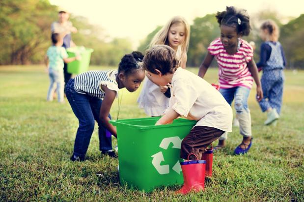 brincadeira para ensinar sustentabilidade klabin foryou